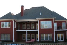 Dream House Plan - European Exterior - Rear Elevation Plan #437-41