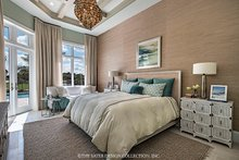 Mediterranean Interior - Master Bedroom Plan #930-458
