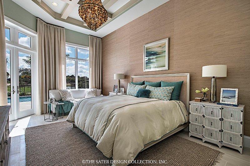 Mediterranean Interior - Master Bedroom Plan #930-458 - Houseplans.com