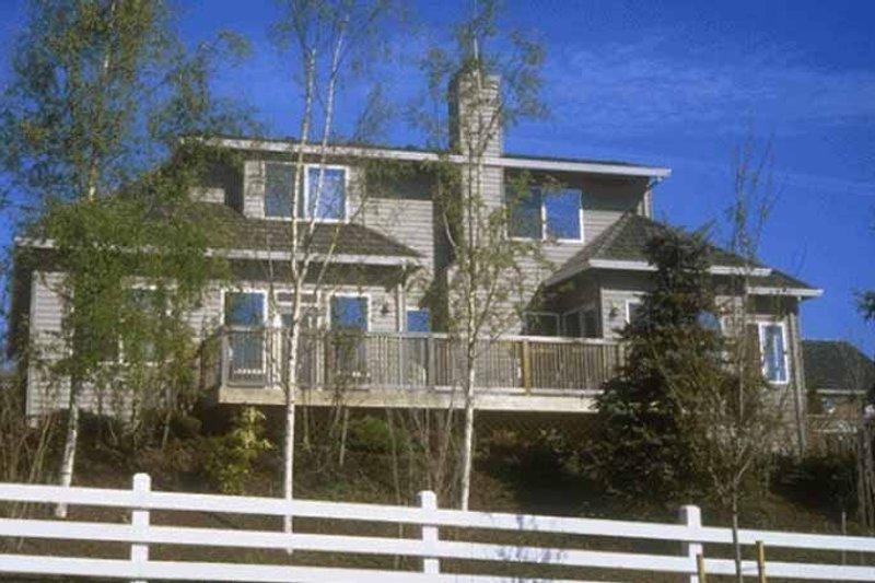 Prairie Exterior - Rear Elevation Plan #509-158 - Houseplans.com