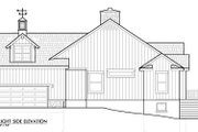 European Style House Plan - 3 Beds 2.5 Baths 2326 Sq/Ft Plan #417-239 Exterior - Other Elevation