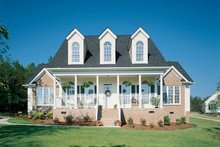 Country Exterior - Front Elevation Plan #929-147