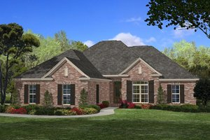 Traditional Exterior - Front Elevation Plan #430-54