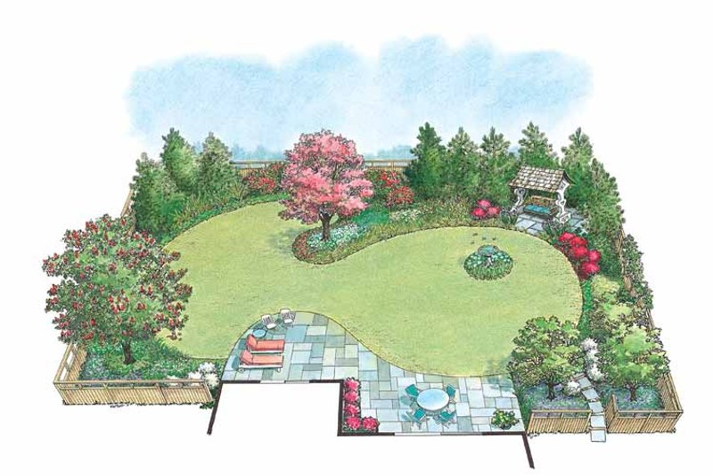 Exterior - Front Elevation Plan #1040-75