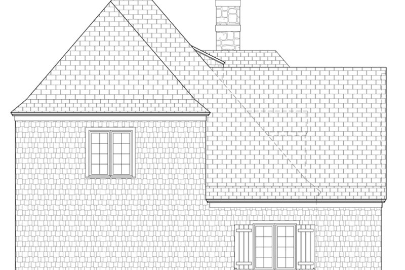 Country Exterior - Other Elevation Plan #453-442 - Houseplans.com