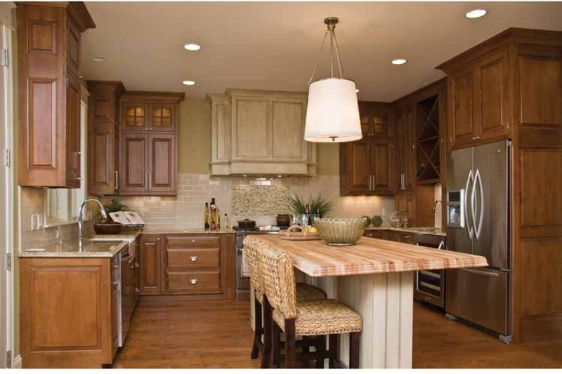 Craftsman Interior - Kitchen Plan #928-230 - Houseplans.com