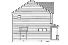 Dream House Plan - Colonial Exterior - Other Elevation Plan #1010-14