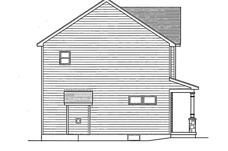 Colonial Exterior - Other Elevation Plan #1010-14 - Houseplans.com
