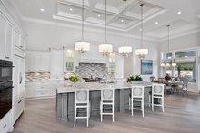 House Plan Design - Mediterranean Interior - Kitchen Plan #1017-166