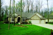 Dream House Plan - Traditional Exterior - Front Elevation Plan #20-804