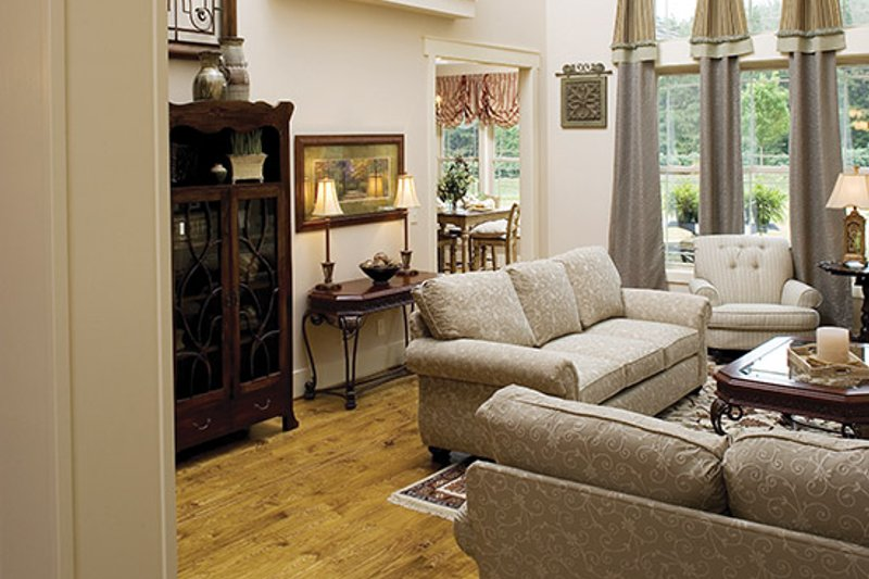 Country Interior - Family Room Plan #927-169 - Houseplans.com