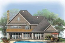 Home Plan - Country Exterior - Rear Elevation Plan #929-835