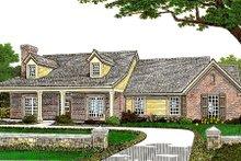 Dream House Plan - Farmhouse Exterior - Front Elevation Plan #310-662