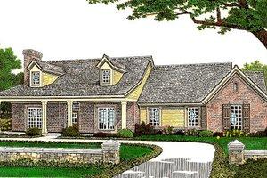 Farmhouse Exterior - Front Elevation Plan #310-662
