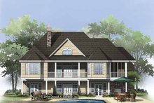 Country Exterior - Rear Elevation Plan #929-818