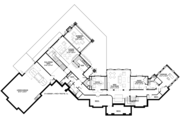Craftsman Style House Plan - 5 Beds 4 Baths 5026 Sq/Ft Plan #928-292 Floor Plan - Lower Floor Plan