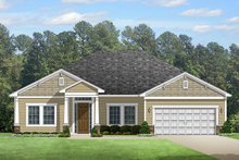 Architectural House Design - Colonial Exterior - Front Elevation Plan #1058-122