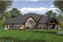 Craftsman Exterior - Rear Elevation Plan #48-649