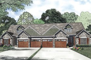 Country Exterior - Front Elevation Plan #17-2402