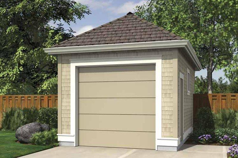 Dream House Plan - Exterior - Front Elevation Plan #48-886
