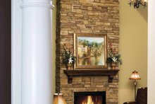 Ranch Interior - Family Room Plan #929-601