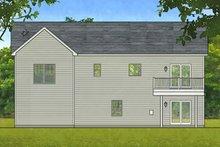 Contemporary Exterior - Rear Elevation Plan #1010-203