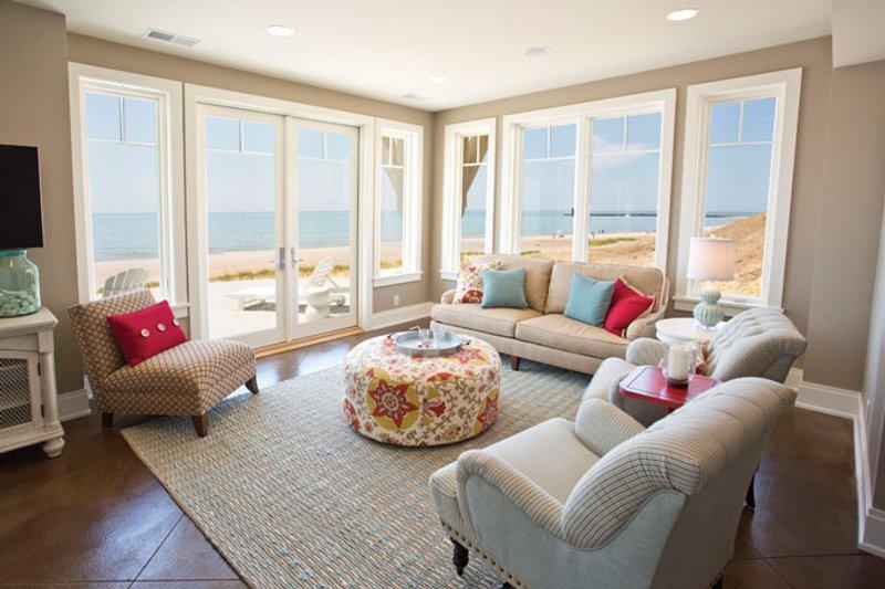 Craftsman Interior - Family Room Plan #928-268 - Houseplans.com