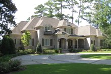Dream House Plan - European Exterior - Front Elevation Plan #1054-93