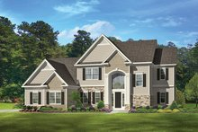 Home Plan - Traditional Exterior - Front Elevation Plan #1010-133