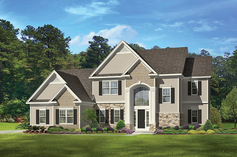 Traditional Exterior - Front Elevation Plan #1010-133