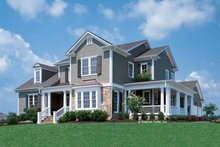 House Plan Design - Country Exterior - Front Elevation Plan #429-258
