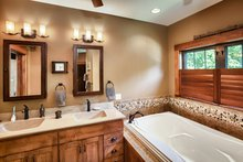 House Plan Design - Craftsman Interior - Master Bathroom Plan #70-1433