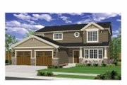 Craftsman Style House Plan - 3 Beds 2.5 Baths 2101 Sq/Ft Plan #943-26