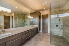 Architectural House Design - Traditional Interior - Master Bathroom Plan #892-25