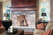 Craftsman Interior - Family Room Plan #928-32