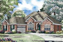 House Plan Design - Ranch Exterior - Front Elevation Plan #17-3023