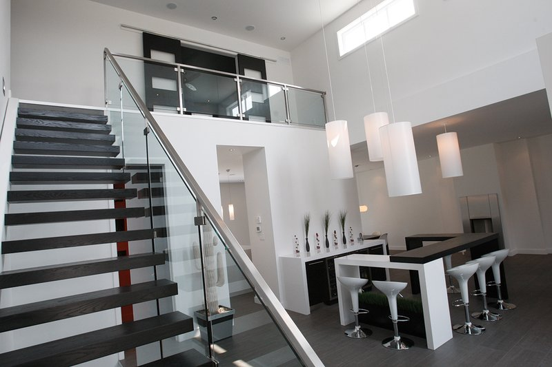 Stairs - 3200 square foot Modern Home