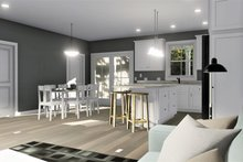 Home Plan - Cottage Interior - Dining Room Plan #44-247