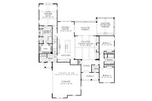 Country Floor Plan - Main Floor Plan Plan #927-986