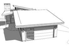 Modern Exterior - Rear Elevation Plan #895-120