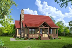 Traditional Exterior - Front Elevation Plan #932-427