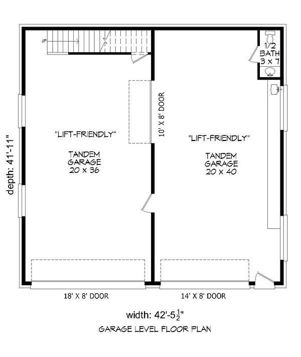 Country Floor Plan - Main Floor Plan Plan #932-270