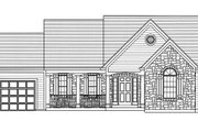 Country Style House Plan - 3 Beds 2 Baths 1535 Sq/Ft Plan #46-895 Exterior - Front Elevation