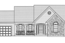 Dream House Plan - Country Exterior - Front Elevation Plan #46-895