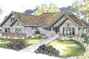 Craftsman Exterior - Front Elevation Plan #124-509