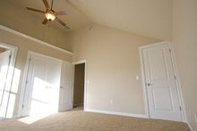Home Plan - Craftsman Interior - Master Bedroom Plan #124-386