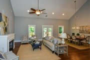 Craftsman Style House Plan - 4 Beds 3.5 Baths 2251 Sq/Ft Plan #119-425 Interior - Family Room