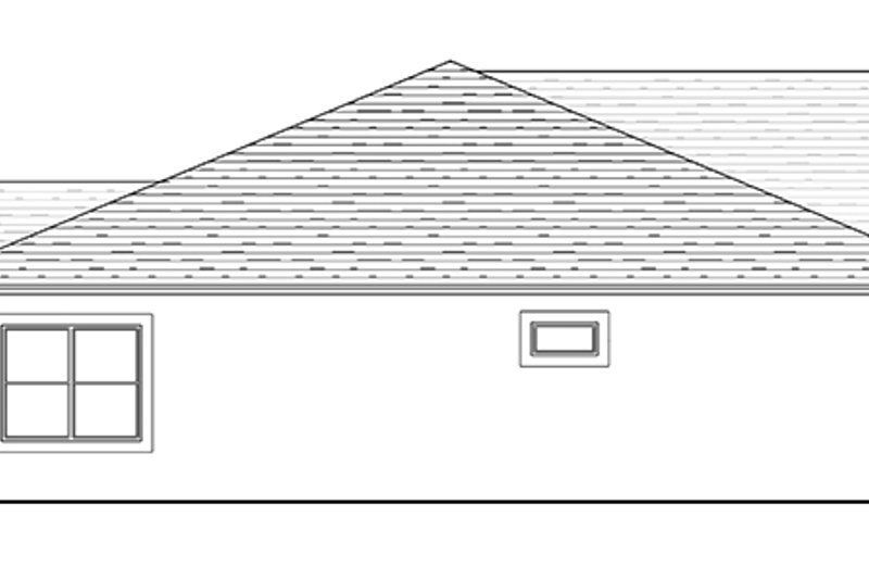 Traditional Exterior - Other Elevation Plan #1058-118 - Houseplans.com