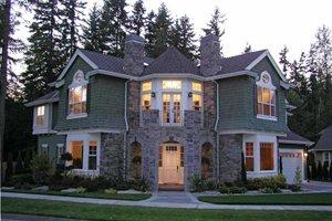 Dream House Plan - Craftsman Exterior - Front Elevation Plan #132-351