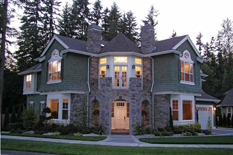 House Plan Design - Craftsman Exterior - Front Elevation Plan #132-351